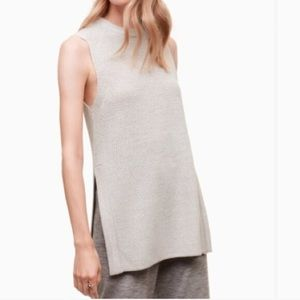 (Caramel) Wilfred Knit Durandal sleeveless sweater